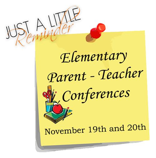 Elementary conferences