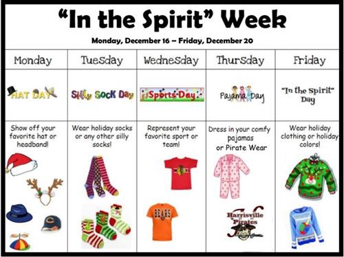 In the Spirit Week